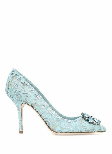 İnce Topuklu Dantel Ayakkabı-Dolce&Gabbana